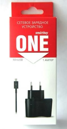 Зарядное устройство сетевое SmartBuy ONE MiniUSB