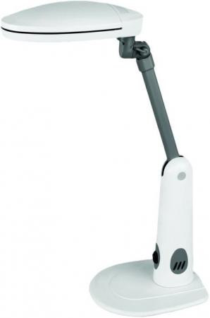 Светильник настольный Camelion KD-026 C01 белый, 230V 2х9W