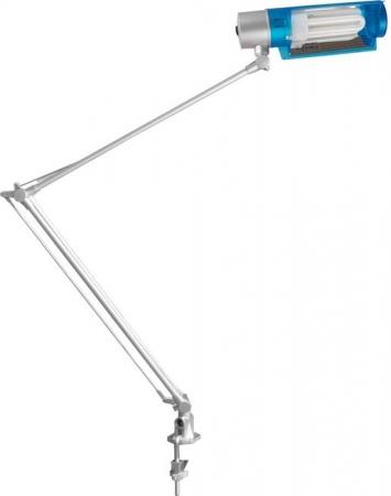 Светильник настольный Camelion KD-028С C55 синий, 230V 20W