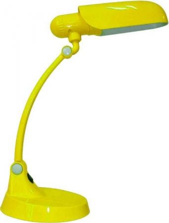 Светильник настольный Camelion KD-031 C07 желтый, 220V 11W Е27
