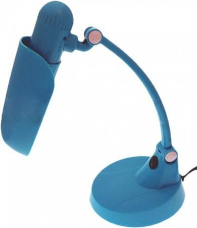 Светильник настольный Camelion KD-031 C13 голубой, 220V 11W Е27