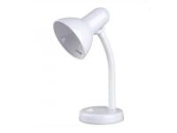 Светильник настольный Camelion KD-301 C01 белый 230V 60W