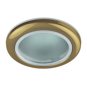 WR1 GD Светильник ЭРА влагозащищенный MR16,12V, 50W золото (100/2000)
