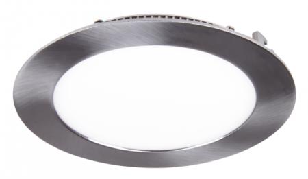 Jazzway светодиодная круглая панель PPL-R18019  14W 870Lm 3500K aluminum AC 100-240V/50Hz