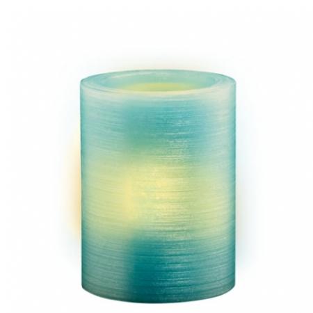 Свеча светодиодная восковая  LED JAZZway CL1-E34BI (голубой св.)