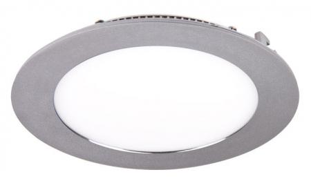 Jazzway светодиодная круглая панель PPL-RPG  алюм 9w 4000K d145*25mm IP20 Jazzway
