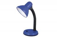 Светильник настольный Ultraflash UF-301 С06 синий, 230V 60W
