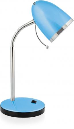 Светильник настольный Camelion KD-308 C13 голубой 220V 40W Е27