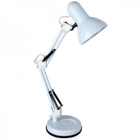 Светильник настольный Camelion KD-313 C01 белый 230V 60W