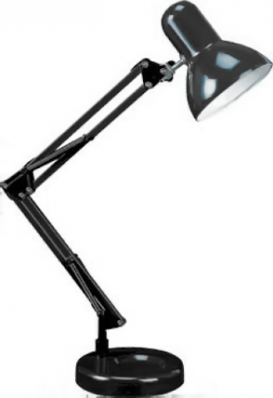 Светильник настольный Camelion KD-313 C02 черный 230V 60W
