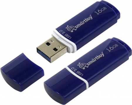 USB 3.0 накопитель Smartbuy 16GB Crown Blue