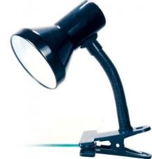 Светильник прищепка Camelion KD-319 C02 черный 230V 60W