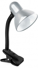 Светильник прищепка Camelion KD-319 C03 серебро 230V 60W