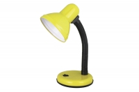 Светильник настольный Ultraflash UF-301 С07 желтый, 230V 60W