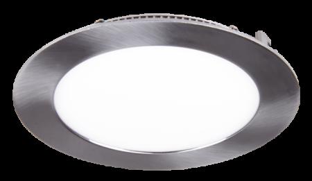 Jazzway светодиодная круглая панель PPL-R30012M 24W 1700Lm 4000K alum.matAC 100-240V/50Hz