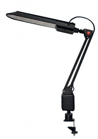 Светильник струбцина 220В, 11Вт, G23 черный TDM