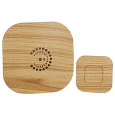 Беспроводной звонок ЭРА BIONIC bright wood