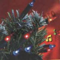 Гирлянда ламповая ES00050/2F Гирлянда внутренняя 50миниламп, 3м, разноцветная, 2 режима