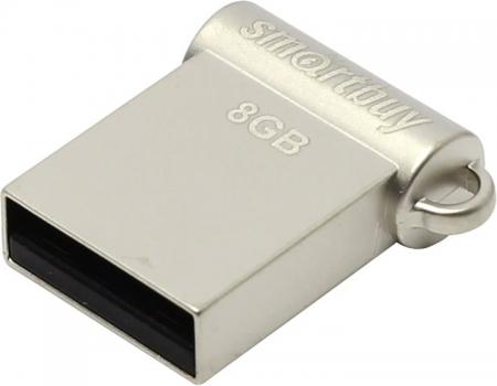 USB флэш-диск Smartbuy 8GB Wispy Silver