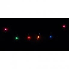 Гирлянда ламповая ES00140/4F Гирлянда внутренняя 8м, разноцветная, 8 режимов, музыкальная