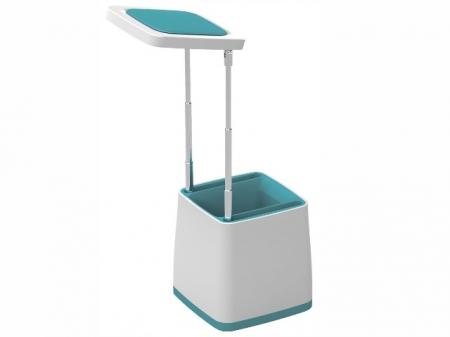 Светильник настол.-пенал Camelion KD-777 C40 белый & голубой.LED2,5 Вт, 230В,USBкаб.+ блок питания)