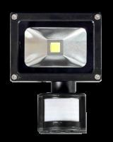 Прожектор светодиодный JAZZway PFL- 10W/CW/BL/SENSOR