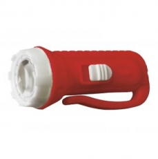 Фонарь Ultraflash 920-TH (фонарь, красный, 1LED, линза, 1 реж,3xAG10 в компл., пласт.,блист - пакет)