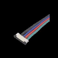Коннектор 5050RGB-N1-15cm (клипса с 4 проводами 15см)