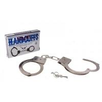 Металлические наручники в коробке