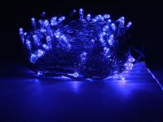 Гирлянда ламповая ITW100C-B Электрогирлянда внутренняя 100 синих микроламп, пр