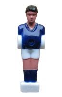 Фигурки игроков для наcтольного футбола, синие S108