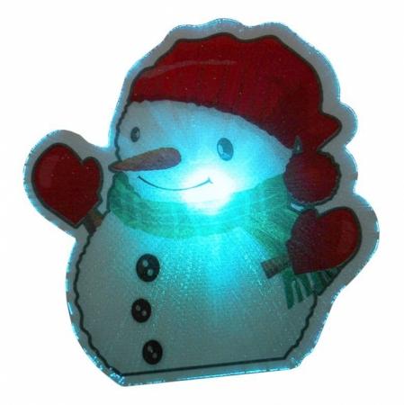 """Ночник Camelion SG-123 """"Снеговик"""" с выключателем"""