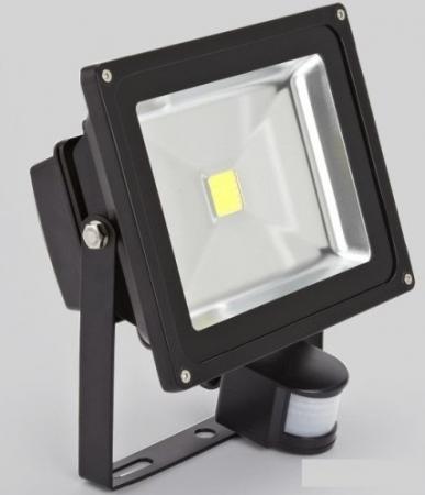 Прожектор светодиодный JAZZway PFL- 30W/CW/ BL/ SENSOR