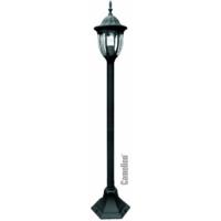 6501 (Черный) Светильник-Столб 1,09м улично-садовый 230В 60/100Ватт