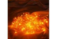 Гирлянда ламповая ITW100C-Y Электрогирлянда внутренняя 100 желтых микроламп, п