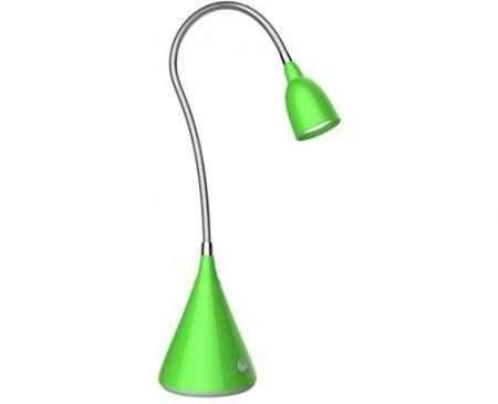 Светильник настольный Camelion KD-775  С05 зеленый LED ( 3 Вт, 230В)