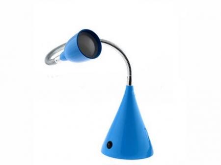 Светильник настольный Camelion KD-775  С06 синий LED ( 3 Вт, 230В)