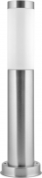Camelion TS-104 (Стальной) Светильник столб 45 см TECHNO улично-садовый 230В 60Ватт