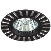KL30 AL/BK Светильник ЭРА алюминиевый MR16,12V, 50W черный/серебро (10/50/2400), литые