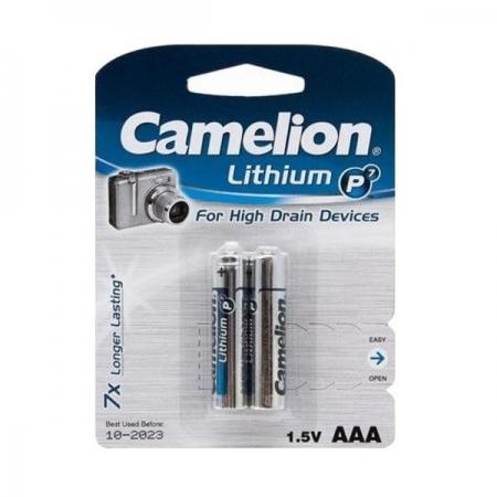 Батарейка Camelion FR03-BP2 литиевая