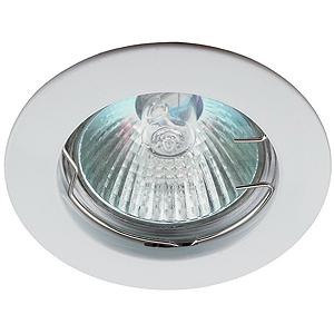 KL1 WH Светильник ЭРА литой простой MR16,12V, 50W белый (100/1400)(литые)