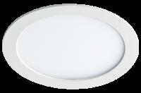 Jazzway светодиодная круглая панель PPL-RPG  алюм 12w 4000K d170*25mm IP20 Jazzway