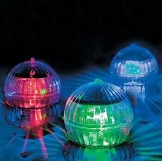 Светильник садовый шар для пруда или бассейна