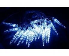 Гирлянда светодиодная ILD020B-AY/IC Гирлянда внутренняя Сосульки,  LED, 5.6м, сининие