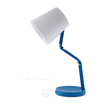 Светильник настольный-трансформер с ночником Camelion KD-783  C34 C40 белый&голубой LED (3Вт, 230В )