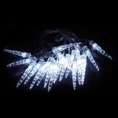 Гирлянда светодиодная ILD020W-AY/IC Гирлянда внутренняя Сосульки, LED, 5.6м, белые