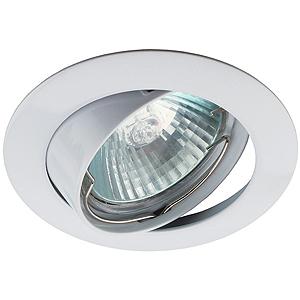 KL1A WH Светильник ЭРА литой простой пов. MR16,12V, 50W белый (5/100/1400)(литые)