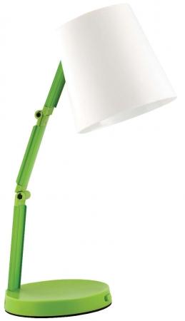 Светильник настольный-трансформер с ночником Camelion KD-783  C34 белый & зелёный LED (3Вт, 230В )