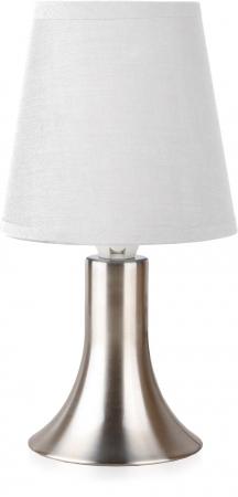 Светильник настольный Camelion KD-400  белый (декоративный, сенсорн. включ-е, 220V,40W, E14),(декоративные)