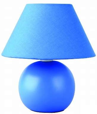 Светильник настольный Camelion KD-408  C06 синий ( декоративный, 220V,40W, E14)